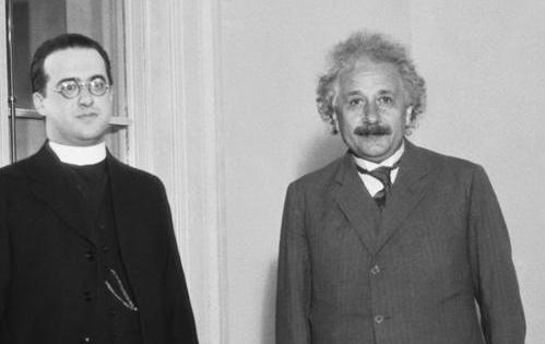 Einstein et George Lemaître