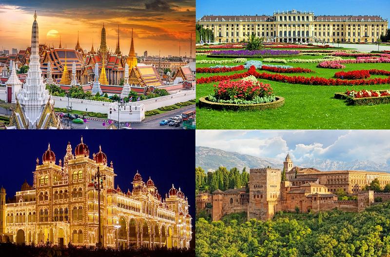 Le plus beau palais de ce monde ressemblera a une vulgaire cabane comparée avec les palais du Paradis